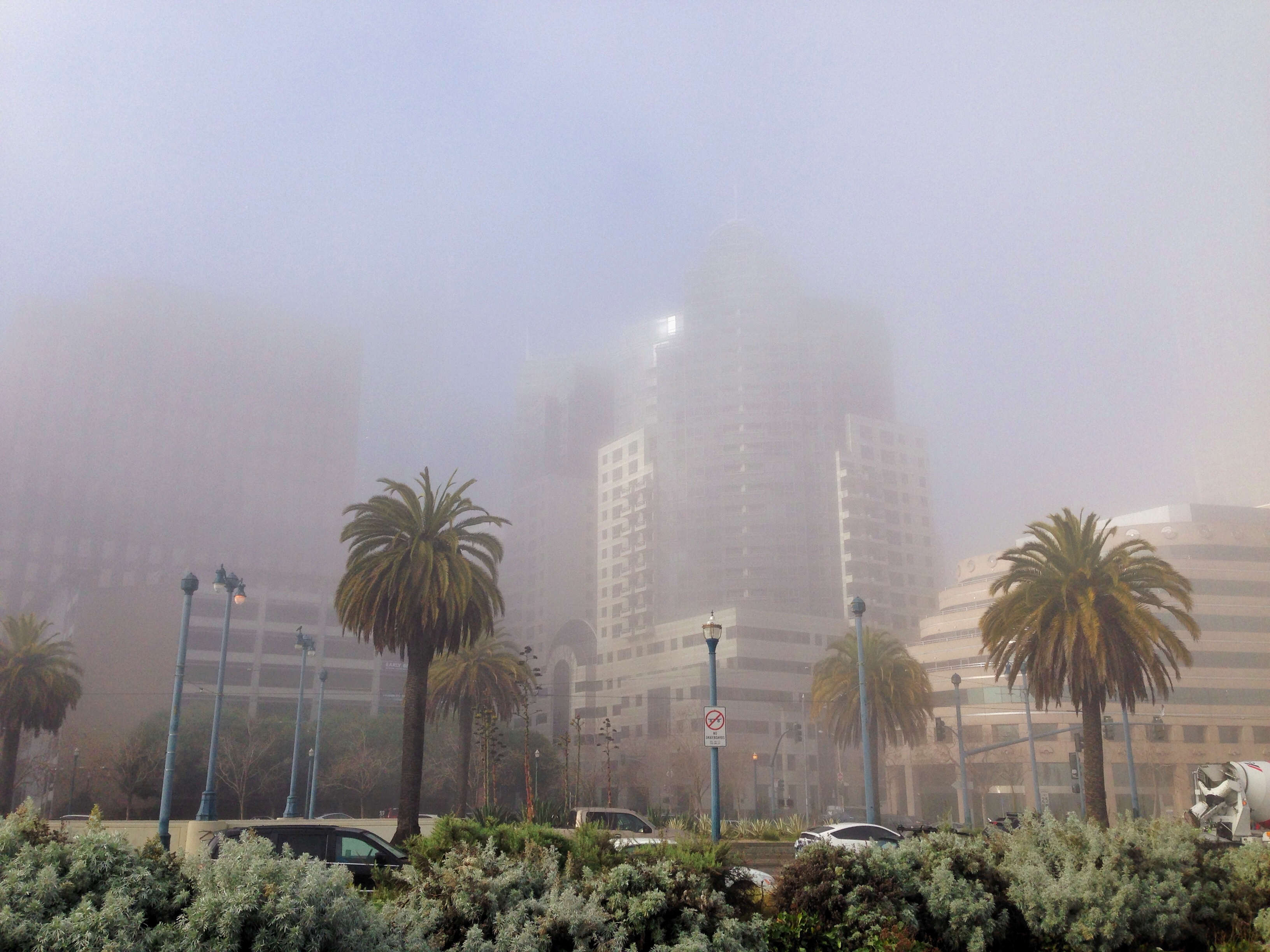 """Foggy Embarcadero"""